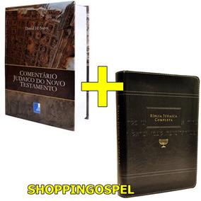 Comentário Judaico Do Novo Testamento + Bíblia Judaica Preta