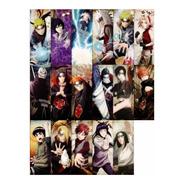 Imanes Naruto X 17 Personajes Variados - Animeras