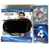 Nuevo De Paquete Sony Ps Vita Pch-1010 Za01 + Juego +memoria