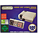 Hdmi Mini Consola Clásica Tipo Nes Retro 600 Juegos Nintendo