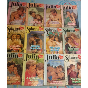 Julia E Sabrina Lote Com 12 Livros