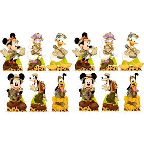 10 dominó personalizado mickey safari lembrancinhas. Carregando zoom.