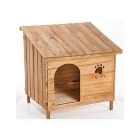 Casa Casinha Madeira Cão Cachorro Gato N6 Grande Edicula