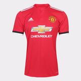 Camiseta Time Original Manchester United Vermelho Nova 2017