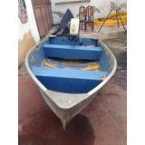 Bote De Aluminio 10 Pie Con Motor Evinrude