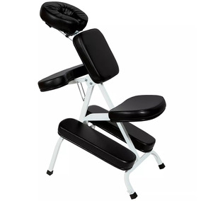 Cadeira Massagem Shiatsu Quick Massage Dobrável Preto Legno
