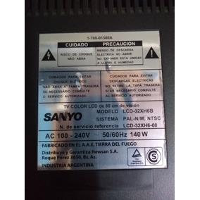 Display Sanyo Lcd 32xh6