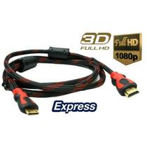 Cable Hdmi 1.5 Metros Bluray Ps4 Xbox