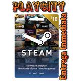 Tarjeta De Recarga Para Steam Card 10$ Usd - Multiregion