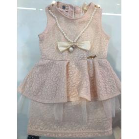 Vestido Ldef 1-3 Anos Infantil Criança Bebe Regata