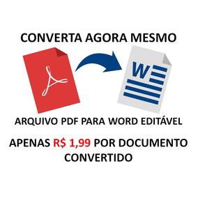 Converta Pdf Para Word Editável - Pdf Para .doc Ou .docx