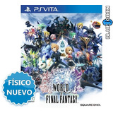World Of Final Fantasy Ps Vita Fisico Sellado | Imperdible
