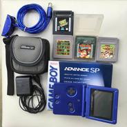 Game Boy Advanced Sp Na Caixa Original