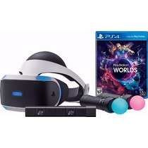 Ps4 Vr Playstation Vr Launch Kit Bundle Realidade Virtual
