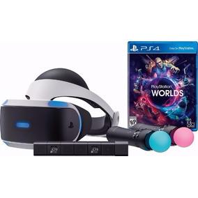 Ps4 Vr Playstation Vr Launch Kit Bundle Realidade Virtual
