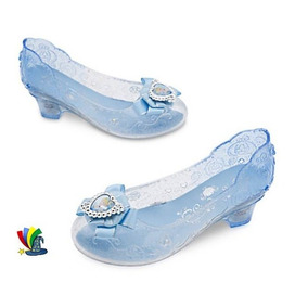 Zapatillas Zapatos Disfraz Cenicienta Original Disney Store