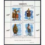 Argentina 1992 Gj 2579/82** Mint Trajes Típicos De Gauchos