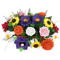 Mini Packs Moldes Para Hacer Flores, Hasta 18 Pares Moldes