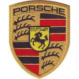 Porsche Carros Parches Bordados