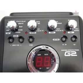 G2 Pedaleira Zoom Multi-efeitos Para Guitarra Zoom G2