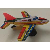 Juguete Antiguo Hojalata Japoneses Avión