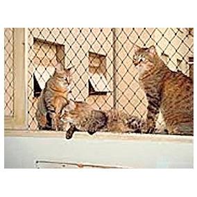 Rede De Proteção Tela Equiplex Malha 3x3 P Gatos, Aves E Pet