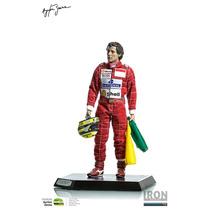 Ayrton Senna Live Legend 1/6 - 1993 Brazil Gp - Iron Studios