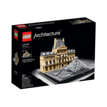 Lego Architecture 21024 Museo Louvre 695pcs Serie Monumental