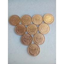 10 Monedas De 2 Pesos Oro 1945 ¡buena Inversión!