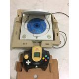 Sega Dreamcast + Control + Vmu + Soulcalibur