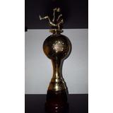 Trofeos Copas Plástico Pelota Fútbol Y Alegoría Base Madera