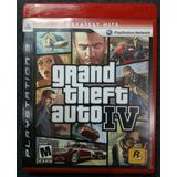 Grand Theft Auto 4 Para Ps3 Usado