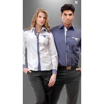 Camisas Para Uniforme Para Dama Y Caballero