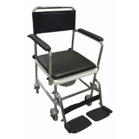 Silla De Servicio 2-en-1 Sin Uso (silla De Ruedas + Baño)
