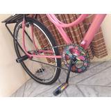 Bicicleta Monark Brisa Rosa