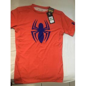 52ad4e7df1 Camiseta Under Armour De Compressão Spider-man