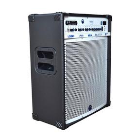 Caixa Multiuso 15 Pol Rms Amplificador 150w Tb-600 Turbox