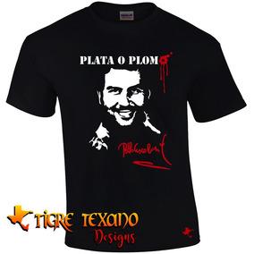 Playera Series Tv Pablo Escobar Mod. 02 Tigre Texano Designs