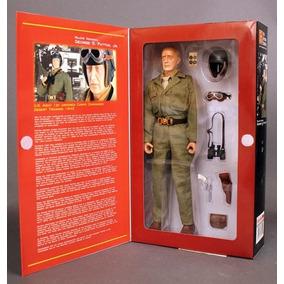 Miniatura Did Dragon 1/6 Major Patton Comandante De Tanque