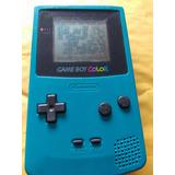 Game Boy Color Verde Con Dodge Ball Kunio Kun