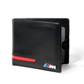 Carteira Porta Cartão Bmw M Couro Eco 320 X1 328 118i X6 325