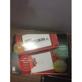 New Nintendo 3ds Xl Com Carregador E Jogo Pokemon