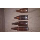 Botellas Antiguas De Colecion , De Cerveza Chicas Las 4