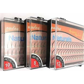 Kit Com 15 - Cílios Tufos P/ Alongamento 3d Navina Cilio