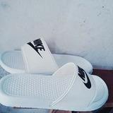 Ojotas Blancas Nike Calidad Nacional