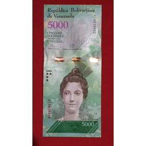 Ander - Venezuela 5000 Bolivares 2017 Sin Circular