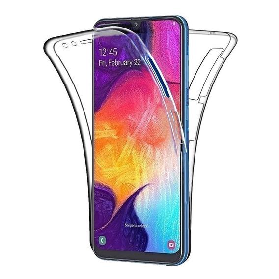 Funda  Samsung 360 A30 A20 A70 A50 Transparente Anti Golpes