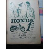 Moto Honda Est Ind Vagiro Publicidad Propaganda