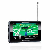 Navegador Tv Digital Gps Multilaser Tracker 3 Tela 4.3 Pol