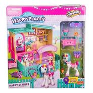 Shopkins Happy Places Establo C/ Pony Completo En Toysmarket